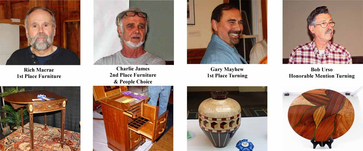 North East Woodworkers Association Showcase 2016