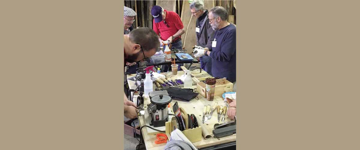 Cabinet Makers Sharpening Workshop