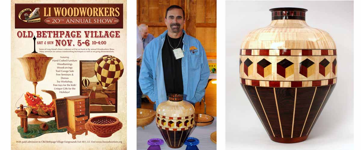 Congratulations Gary Mayhew 1st Place in Segmented Turning and Best in Show