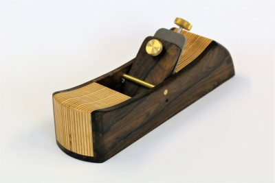 Ziricote & Birch Plywood Hand Plane