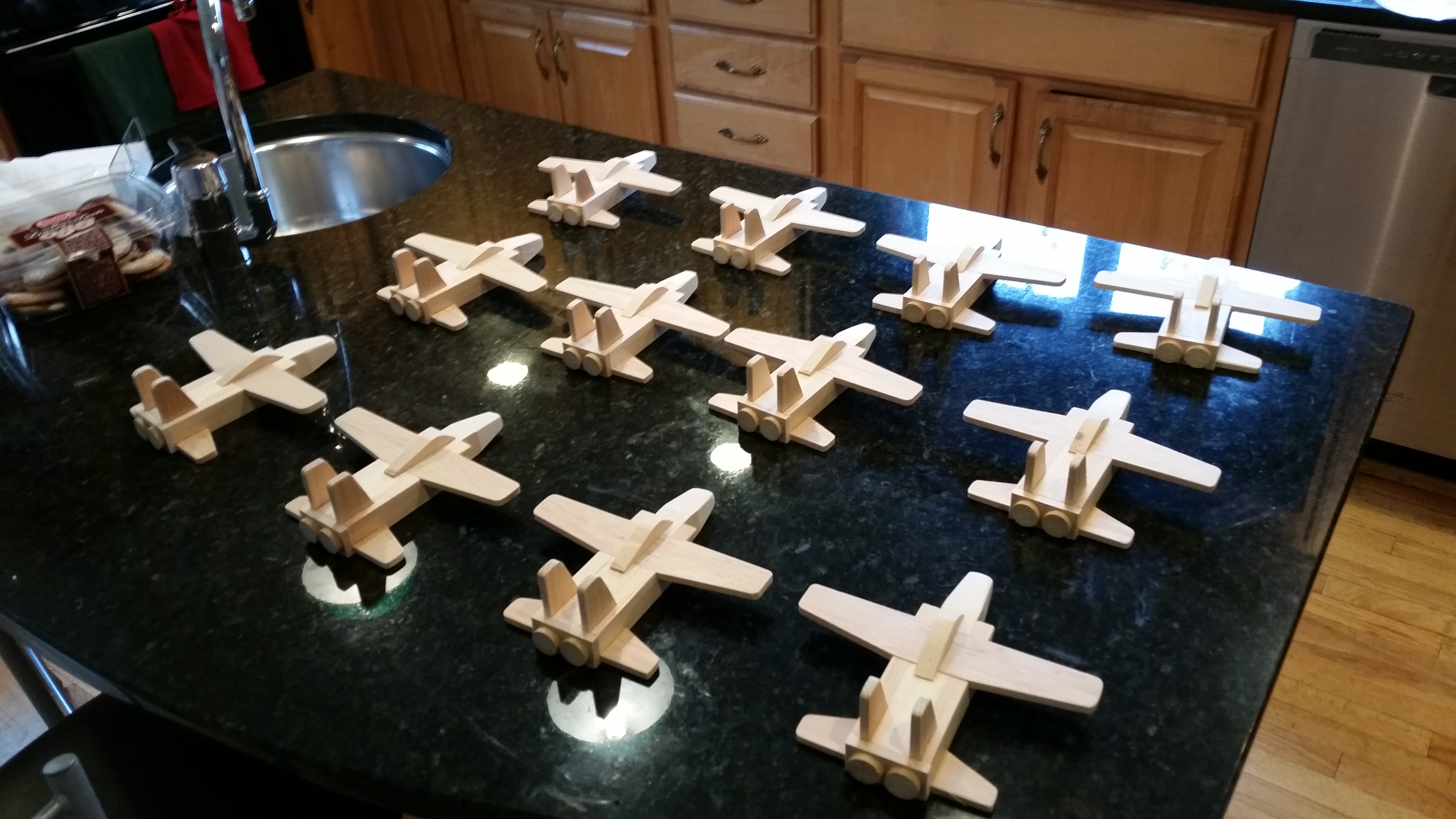 Toys4Tots planes