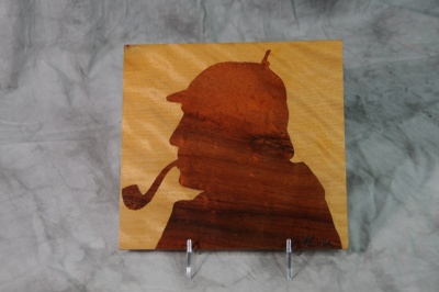 Marquetry - Sherlock Holmes