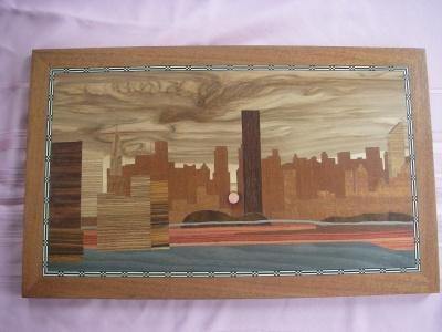 Marquetry - Manhattan Henge